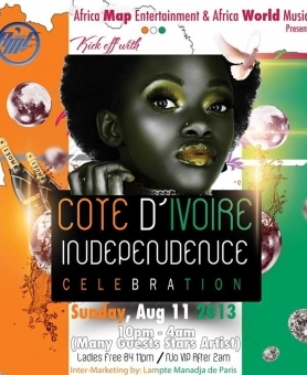 COTE D'IVOIRE INDEPENDENCE CELEBRATION